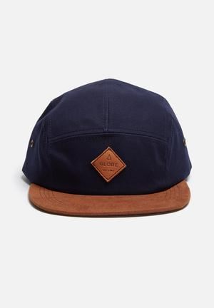 Globe Wallace Headwear Navy & Brown