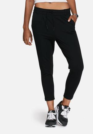 ONLY Poptrash Pants Trousers Black