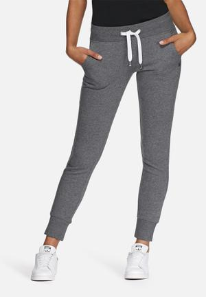 ONLY Finley Sweat Pants Bottoms Charcoal