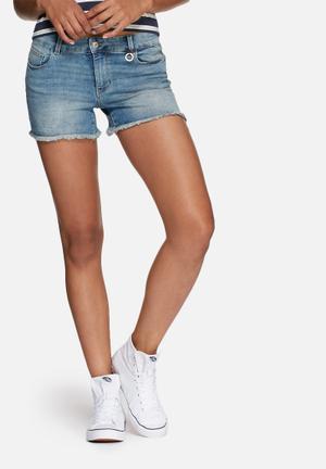 ONLY Ultimate Denim Shorts Blue