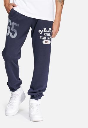 Superdry. Core Applique Lite Jogger Sweatpants & Shorts Navy