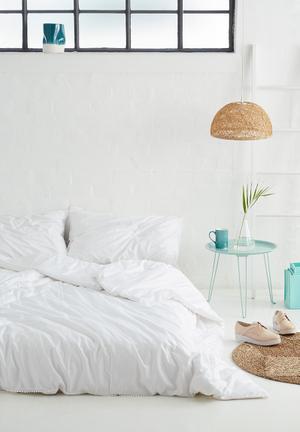 Sixth Floor Poppy Lace Duvet Set Bedding 200tc Cotton