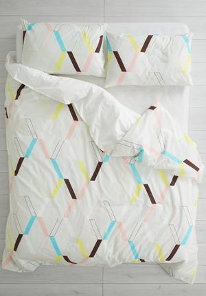 Sixth Floor Bounce Duvet Set Bedding 100% Cotton