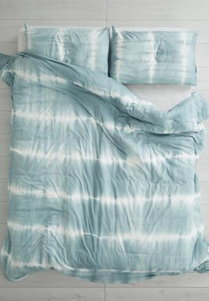 Sixth Floor Tie Dye Duvet Set Bedding 100% Cotton