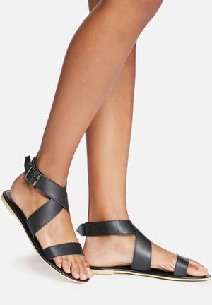 Dailyfriday Dani Leather Sandal Black