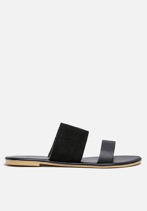 Dailyfriday Amanda Leather Sandal Black