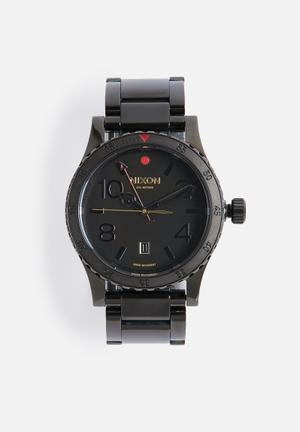 Nixon Diplomat SS Watches Polished Gunmetal