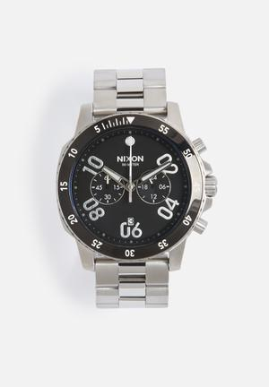 Nixon Ranger Chrono Watches Black
