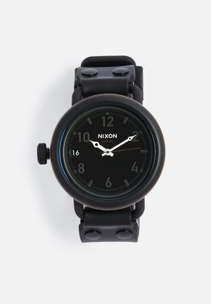 Nixon October Watches Black