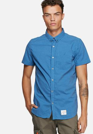 Superdry. Pantechnican Shirt Blue