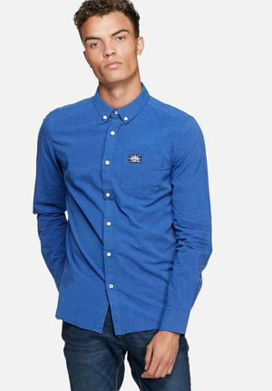 Superdry. Bay View Shirt Blue
