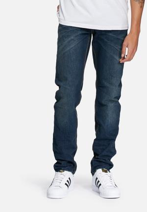 Superdry. Officer Slim Jeans Blue