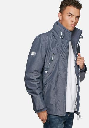 Superdry. Technical Wind Attacker Jackets Grey & White