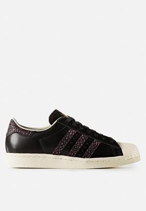 Adidas Originals Superstar 80s Snake Sneakers Core Black / Craft Pink