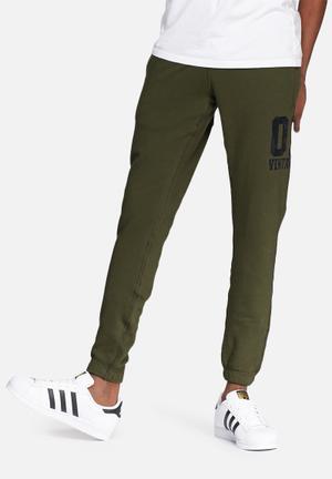 Jack & Jones Vintage Jacob Sweat Pants Sweatpants & Shorts Olive & Grey
