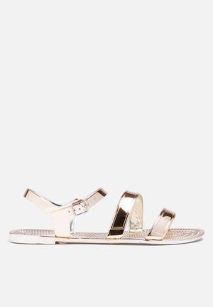 Steve Madden Haidee Sandals & Flip Flops Rose Gold