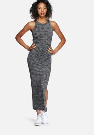 Essential split maxi dress