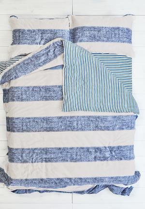 Cotton Cloud Seaside Duvet Set Bedding 100% Cotton & 500 Thread Count