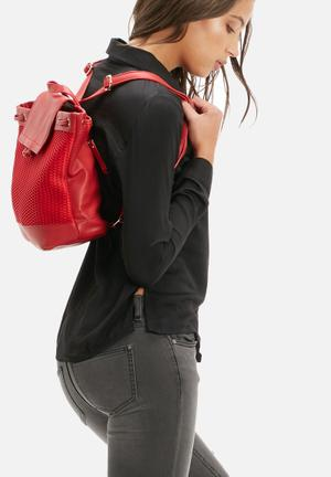 The Lot Von Volly Backpack Bags & Purses Red