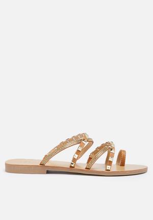 Zoom Aria Sandals & Flip Flops Tan