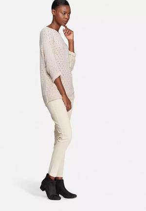 VILA Diga Knit Knitwear Soft Pink