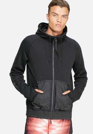 Nike International Hoodie Hoodies & Sweatshirts Black