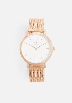 ROSEFIELD Mercer Watches Rose Gold