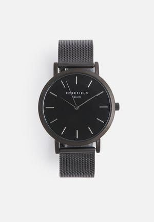 ROSEFIELD Mercer Watches Black