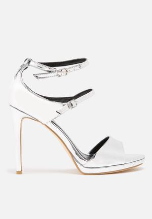 Dailyfriday Liquid Heels Silver