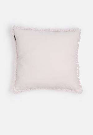 Linen House Cuba Cushion Pale Pink