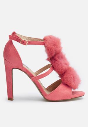 Cape Robbin Salia Heels Pink