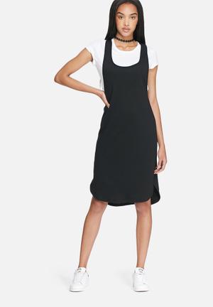 Drop armhole sweat dress