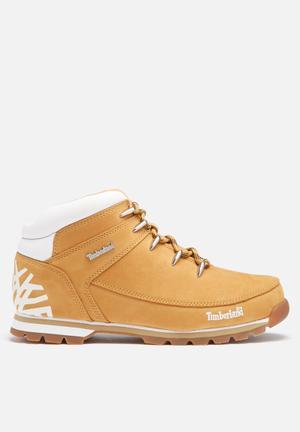 Timberland Euro Sprint Hiker Boots Tan