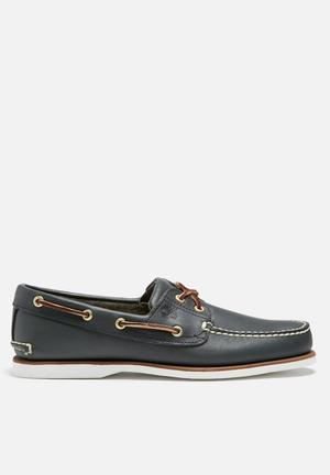 Timberland Classic Boat Shoe Slip-ons And Loafers Navy