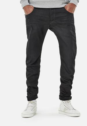 G-Star RAW Arc Zip 3D Slim Jeans Black