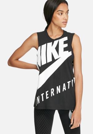Nike Nike Tank Top T-Shirts Black & White