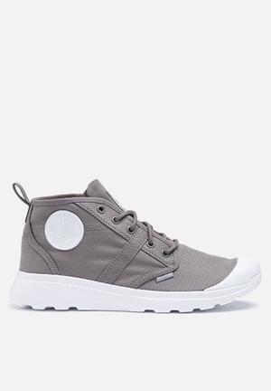 Palladium Pallaville Hi Deux Boots Grey
