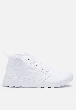 Palladium Pallaville Hi Deux Boots White