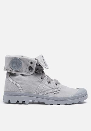Palladium Pallabrouse Baggy Boots Grey