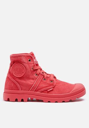Palladium Pallabrouse Boots Scarlet