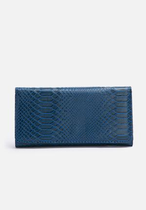 Dolce Vita Ally Zip Purse Navy & Black