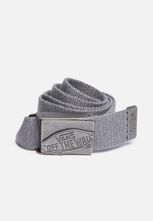 Vans Conducter Web Belt Grey