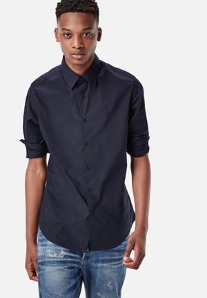 G-Star RAW Core Slim Shirt Navy Blue