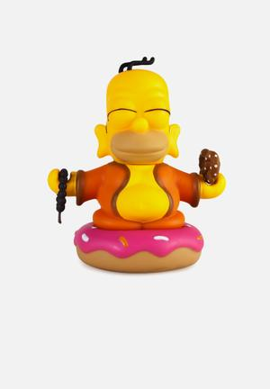 Kidrobot The Simpsons: Homer Buddha Figure Toys & LEGO Vinyl