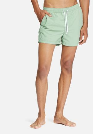 Jack & Jones Jeans Intelligence Flow Swim Shorts Swimwear Green