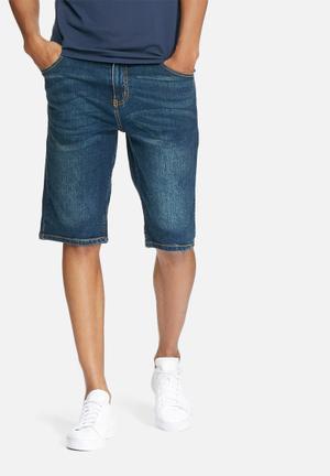 Lee  Soho Denim Shorts Blue