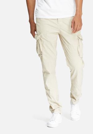 Superdry. Core Slim Cargo Pants Beige