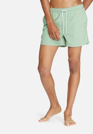 Jack & Jones Jeans Intelligence Malibu Swim Shorts Swimwear Green