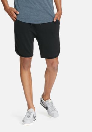 Basicthread Boxer Sweat Shorts Black