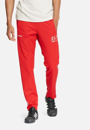 Adidas Originals 83-C Trackpants Sweatpants & Shorts Red & White